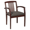 Sonoma Guest Chair with Wood Slat Back (Set of 2) - OSP-SON-992-CHY