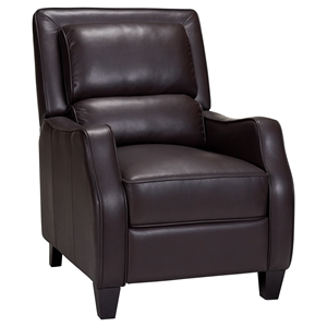 Duncan Leather Recliner - Belmont Brown
