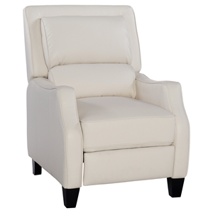Duncan Leather Recliner - Harmony Ivory
