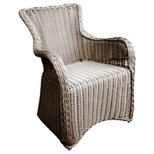 Krista Outdoor Armchair - Gray Kubu Rattan Wicker