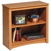 Sonoma 2-Shelf Contemporary Bookcase - PRE-XDL-3229