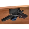 Mount Anywhere Pistol Rack - Coated Wire, Black - RCKM-6001