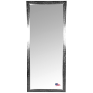 Rectangular Mirror - Black Smoke Frame, Silver Liner