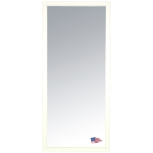 Rectangular Mirror - White Driftwood Frame