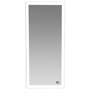 Rectangular Mirror - Glossy White Frame