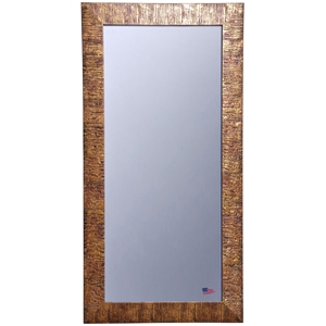 Rectangular Mirror - Safari Bronze Finished Frame