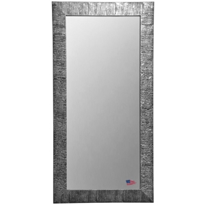 Rectangular Mirror - Safari Silver Finished Frame