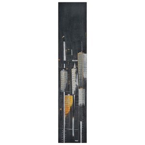 Midnight City II Oil Painting - Gallery-Wrapped, Tall Canvas