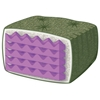 Comfort Cushion Twin Futon Mattress with Designer Cover - RSP-CMFRT-DCMAT-TW