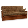 Ritz Wood Futon Frame Set with FREE Pillows - RSP-RTZ-SET#