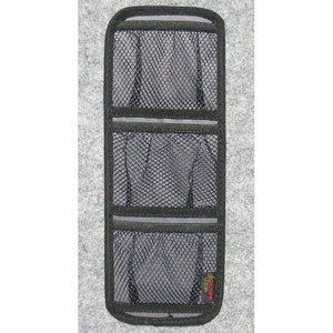 3-Pocket Accessory Pouch - Velcro, Mesh