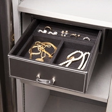 "8.5"" Under Shelf Jewelry Drawer - Velvet Lining"