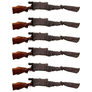"52"" Long Gun Knitted Socks - Cotton Fabric (Set of 6)"