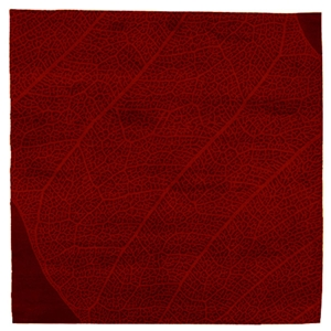 The Nature - Dark Red Rug
