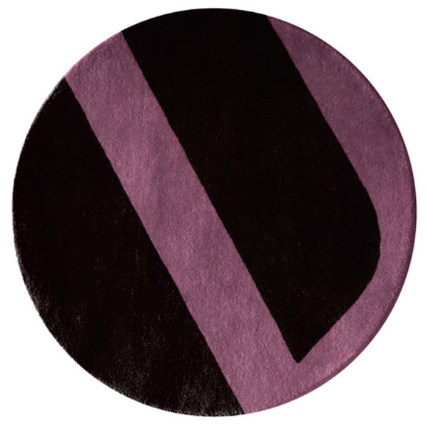 Velour - Black & Nostalgia Rose Rug