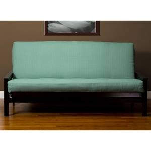 Teal Linen Futon Cover