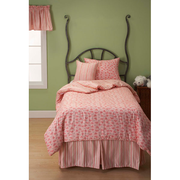 Sweet Hearts Youth's Bedding Set