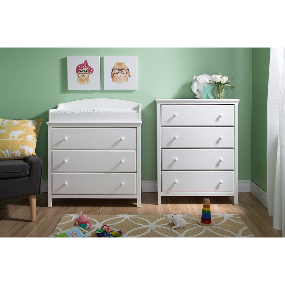 a kitchen island cotton changing table with 4 drawers chest 10058