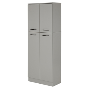 Axess 4 Doors Storage Pantry - Soft Gray