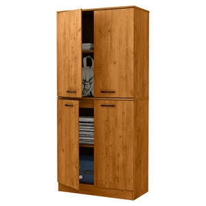 Axess Armoire - 4 Doors, Country Pine