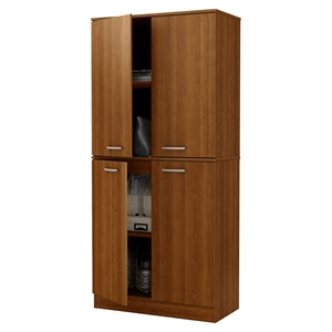Axess Armoire - 4 Doors, Morgan Cherry