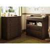 Angel Espresso Changing Table and Chest Set