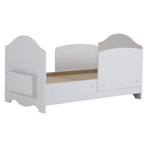 Savannah Toddler Bed - Pure White