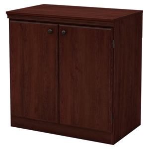 Morgan Storage Cabinet - 2 Doors, Royal Cherry