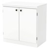 Morgan Storage Cabinet - 2 Doors, Pure White - SS-7260722