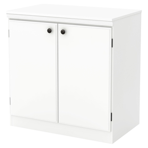 Morgan Storage Cabinet - 2 Doors, Pure White