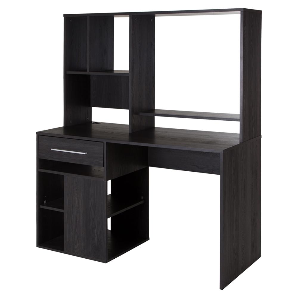 Annexe Home Office Computer Desk - Gray Oak