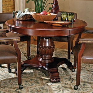 Tournament Game/Dining Table in Cherry Finish
