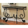 Rosemont Sofa Table with Metal Scroll Accents - SSC-RM200S
