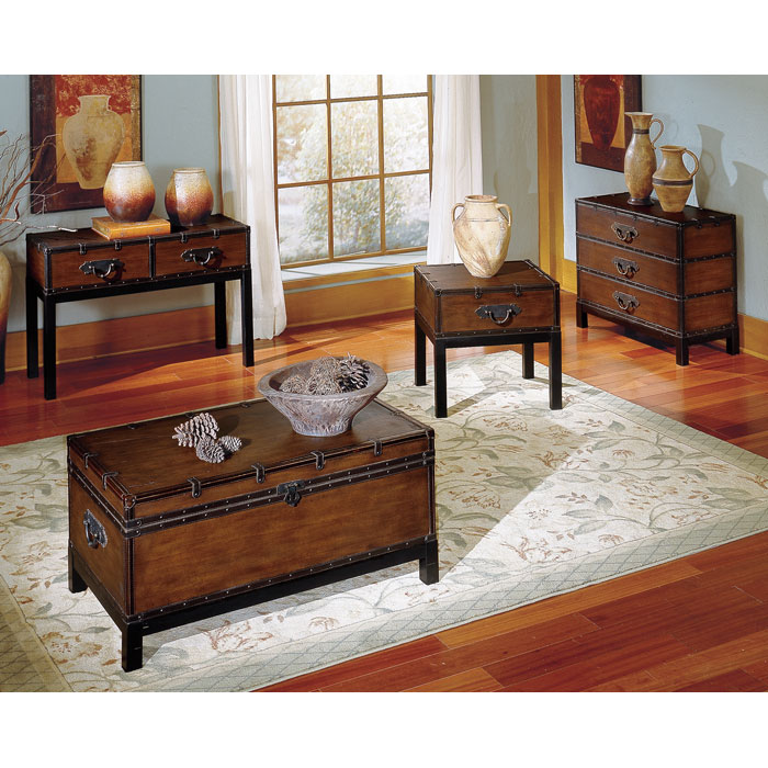 Voyage Storage Trunk Style Cocktail Table Dcg Stores