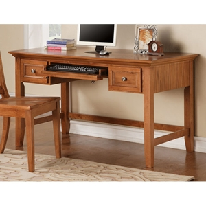 Oslo Writing Desk with Keyboard Tray