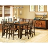 Abaco 9 Piece Two Toned Counter Set - SSC-AB500-9PC