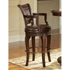Antoinette Hand Carved Bar Set with Swivel Chairs - SSC-AY300-3PC