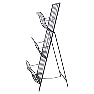 Metal Magazine Rack (Set of 2)