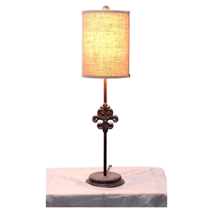 "31""H Table Lamp - Drum Shade (Set of 2)"