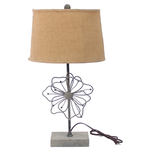 "27""H Table Lamp - Brown Shade (Set of 2)"