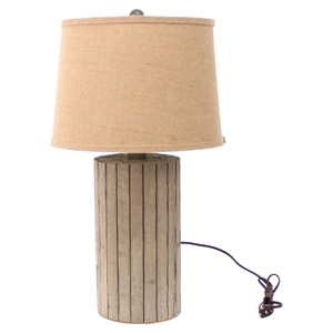 Table Lamp - Brown Shade (Set of 2)