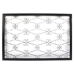 Rectangular Metal Wall Decor