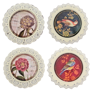 Assorted Plate Wall Decor