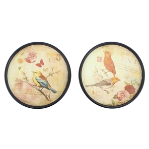 2 Round Plate Wall Decor (Set of 6)
