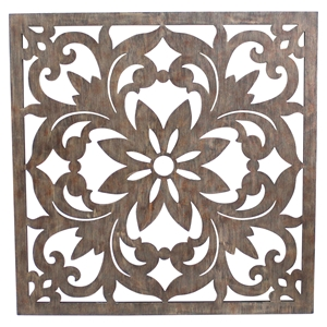 Square Metal Wall Decor