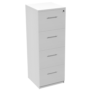 100 Series Vertical Filing Cabinet  - 4 Drawers