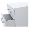 200 Series Mobile File Cabinet - 2 Drawers, White - UNIQ-231-WH