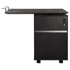 300 Series Return Desk - File Cabinet, Espresso