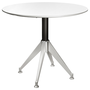400 Series Round Meeting Table - White