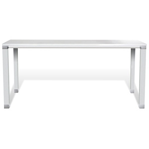 "Pure Office 71"" Conference Table - White Lacquer"